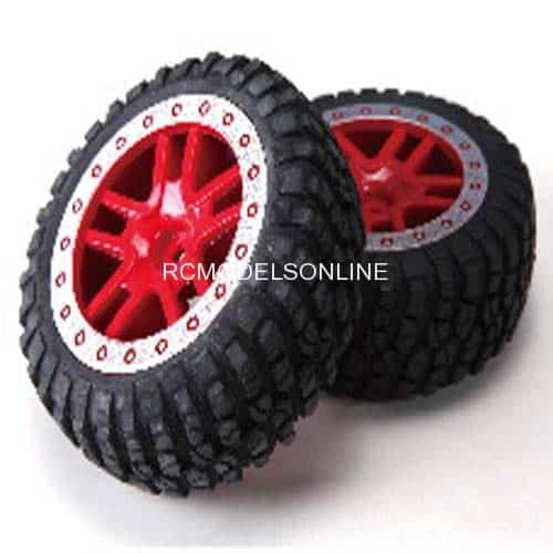 RP2046 Tires Assembly For Remo Hobby 8035 8036 1/8 brushless monster truck  parts